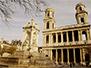 The nearby Saint Sulpice church