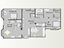 Layout of the apartment