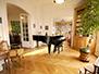 Exquisite piano room