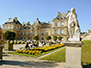The Senat building in the Luxembourg Garden