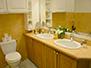 Double sink in main bathroom