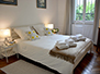Main bedroom with large double bed
