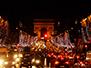 Midnight at the Champs-Élysées