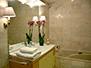 Bathroom with a bathtub, sink, shower and bidet